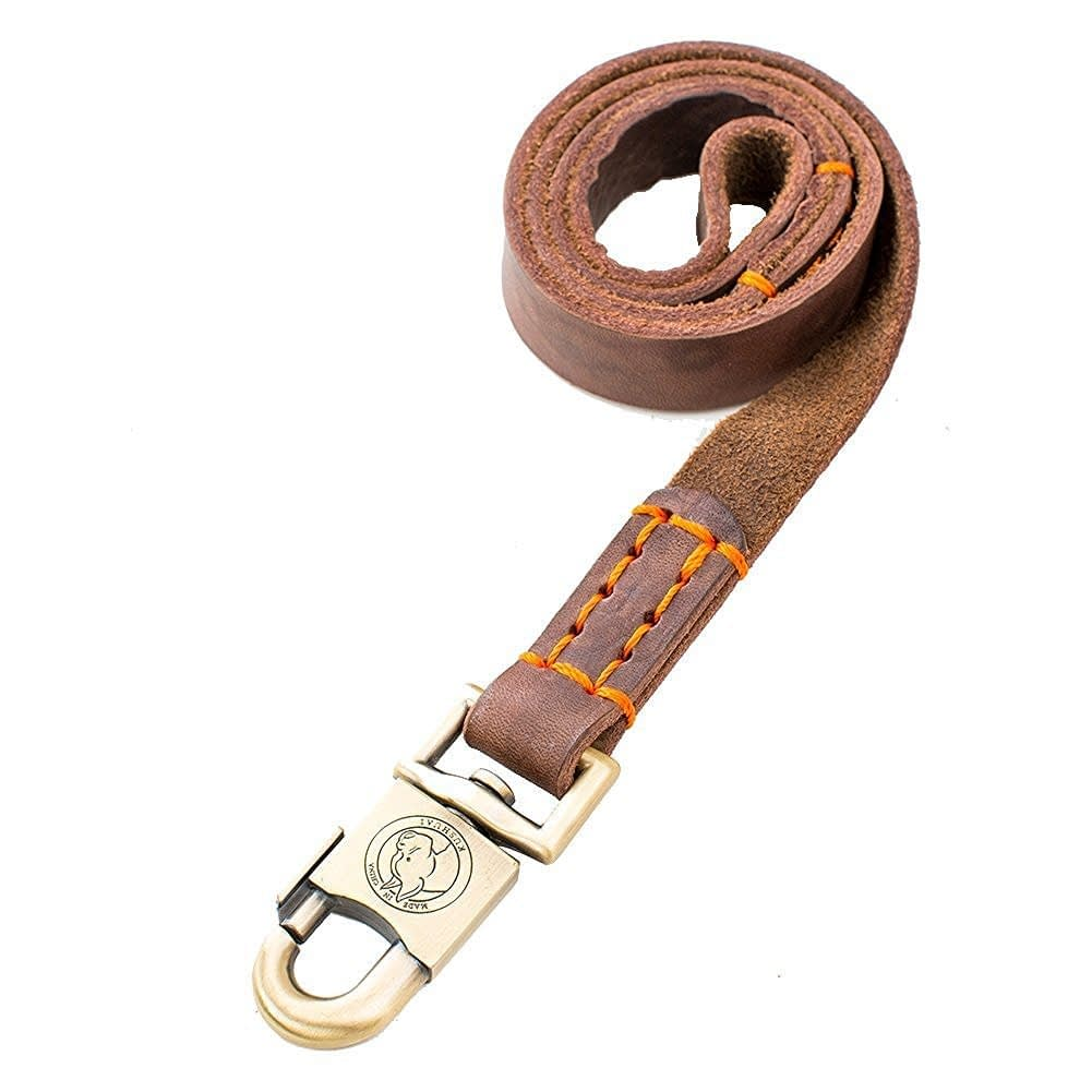 Rantow Super Strong Leather Pet Trainning Leads
