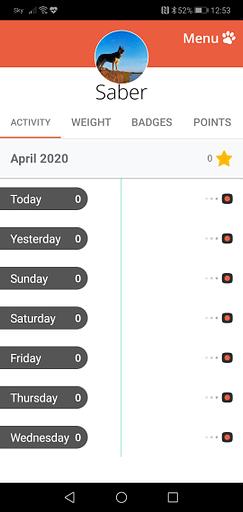 PitPat App Screen