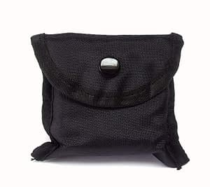 The pouch that comes with the M1 K9 Collar