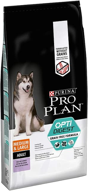 Pro Plan Grain Free Medium Adult With Sensitive Digestion Turkey Dry Dog Food Any Good?