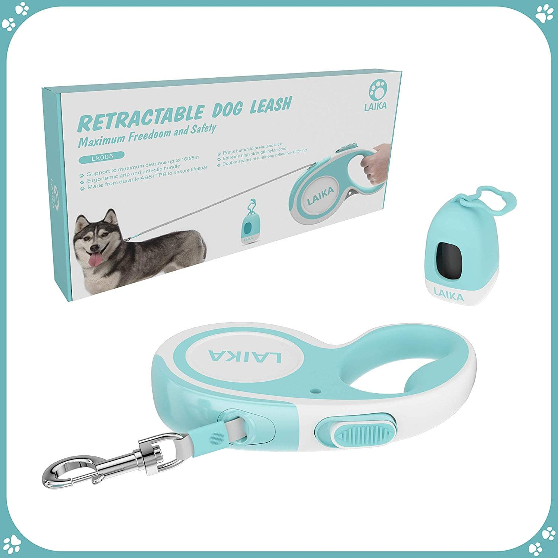 LAIKA Retractable Dog Lead Tangle-Free